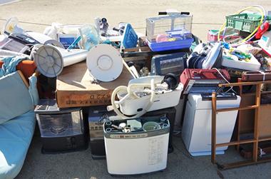 引っ越し時の不用品回収 説明イメージ(集積場の粗大ごみ イメージPHOTO)